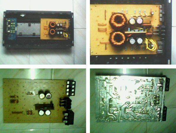DC to DC converter circuit 1400W SG3525 Electronics