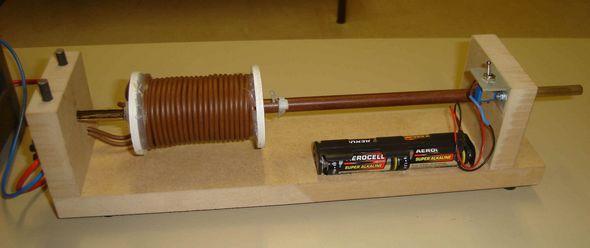 circuit-schema-electromagnetic-launcher-coilgun