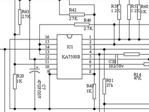 Microlab ATX 400w KA7500 SMPS