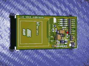 Nokia 6100 3310 3510i Lcd Deney Test Modülleri