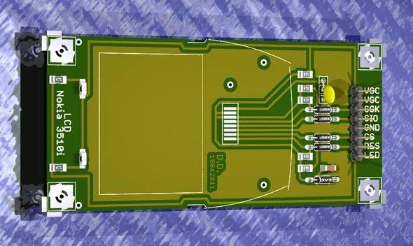 nokia3510-nokia-6100-knock-off-nokia-lcd-breakout-board