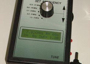 PIC16F873A 1.3 MHz 31MHz Anten Analizörü
