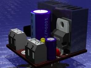 78XX Regülatör Entegresi için Modül PCB