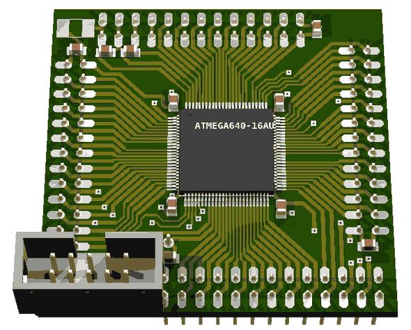 atmega1280-tqfp100-adapter-pcb