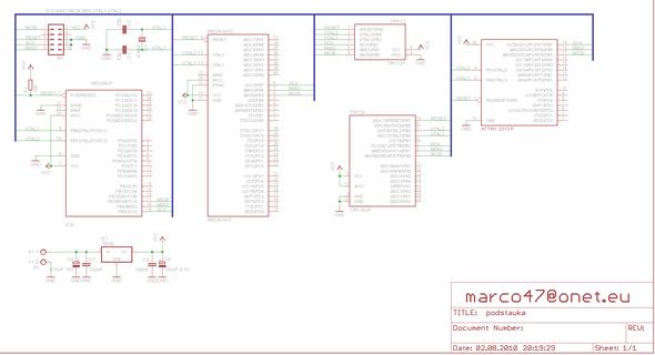 USBASP DIP adapter PCB Atmel AVR Programmer avr programmer usbasp dip adapter schematic eagle