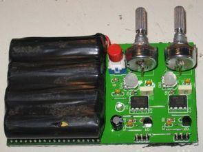 Basit İki Kanal Servo Motor Test Devresi NE555