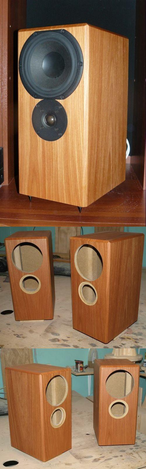 Stereo Speaker Cabinet and Bass Treble filter design hoparlor kabinleri speaker desings hoparlor kabin tasarim