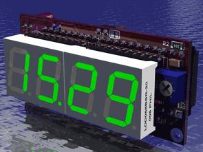 ICL7106 ICL7660 Voltmetre Ampermetre Devreleri