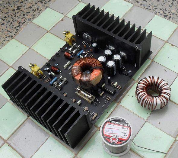 200w Car Amplifier Circuit Lm3886 Sg3525 Electronics