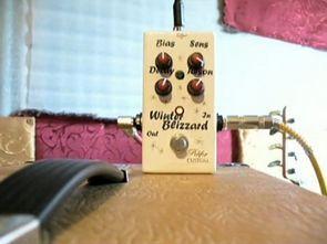 Snow White Auto Wah Gitar Efekt Devresi LM324 LM13700