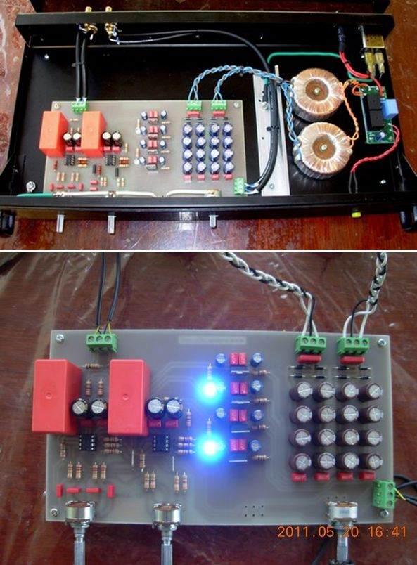 Op Amp In Stereo Hi-fi Tone Control Circuit