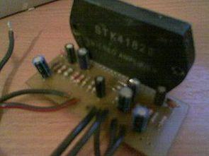 STK4172 STK4182 STK4192 Amplifikatör PCB