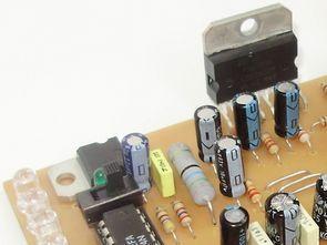 TDA7294 Komple 100W Amplifikatör Vu Metre Ton Kontrol