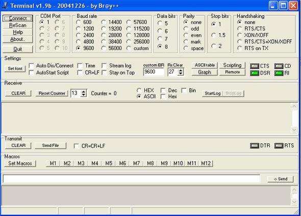 Scrolling Text Circuit  LED Matrix PIC16F628  74HC595 terminal programi kayan yazi