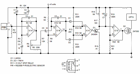 high current power supply schematic with Hareket Dedektoru Pir Kontrol Devresi Pir325 Re200b on 6146psupply together with Led Chaser Ic 4017 Ic 555 also Project106 together with Piezoelectric Heat Sensor further Inductor Types And Symbols.