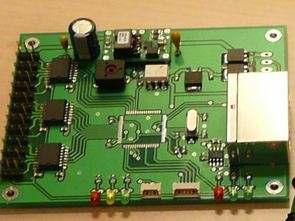 12 Servo Kontrol CAN AT90CAN128 Adum1400
