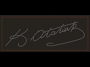 Atatürk İmzası Corel Draw Led Tabela Çizimi