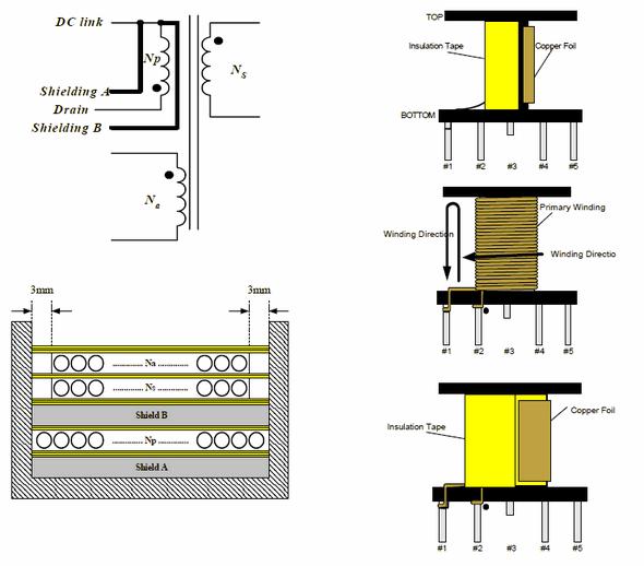 flyback-converter-transformer-smps-current-flows