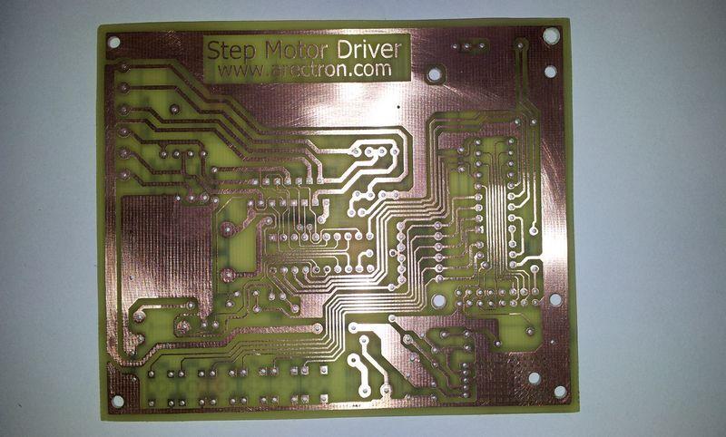Драйвер Униполярного Шагового Двигателя На Транзисторах