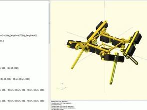 Solid 3D CAD Modeller Oluşturmak İçin OpenSCAD Pogramı