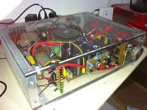 LM3886T Bridge Projesi Komple Amplifikatör