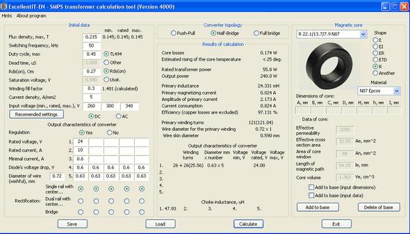 smps-transformer-calculation-tool