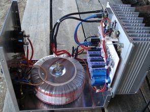 13.6V 22 Amper TIP142 Transistörlü Güç Kaynağı
