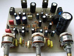 BJT Transistörlü Ton Kontrol Devresi Mono Stereo TDA2030