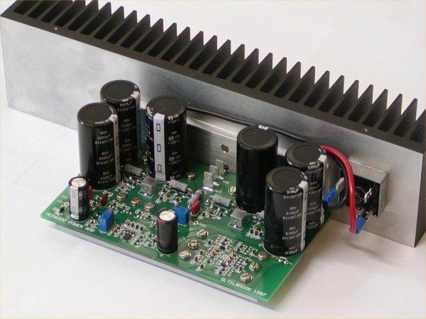 HiFi Power Amplifier | Elektronik Devreler Projeler