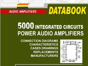 5000 Entegre Amplifikatör Kitabı (Data Book)