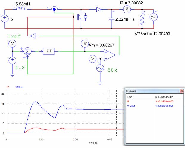 Boost-converter-Current