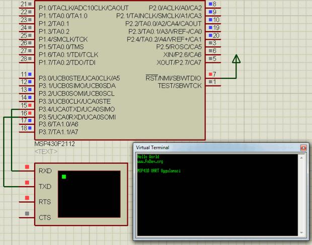 MSP430-Uygulama