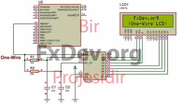 One_Wire_LCD_circuit