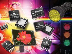 Microchip LED Aydınlatma Uygulamaları Tasarım Kılavuzu