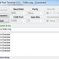 Serial Port Terminal V1.1