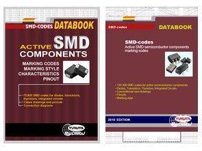 SMD Codes Data Book Kitabı 120.300 SMD Komponent Bilgisi