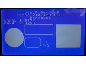 T6963 240×128 GLCD Driver