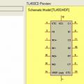 TL494 TL495 TL493 Proteus isis Model Library Dosyaları