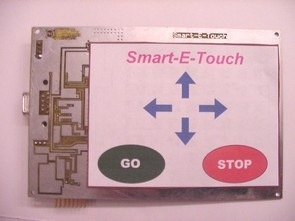 68HC908QY4 Touch Screen User Interface