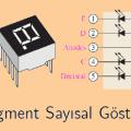 7 Segment LED Display Nedir ? Nasıl Kullanılır ?