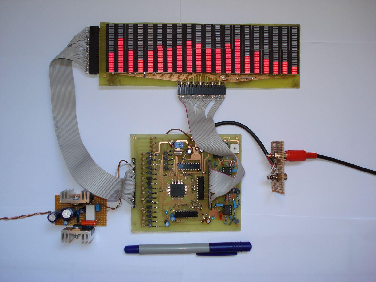 Аудио анализатор спектра схема 27 фотография