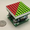 leds-uln-2803-darlington-transistor-mcu-max-756-boost-regulator
