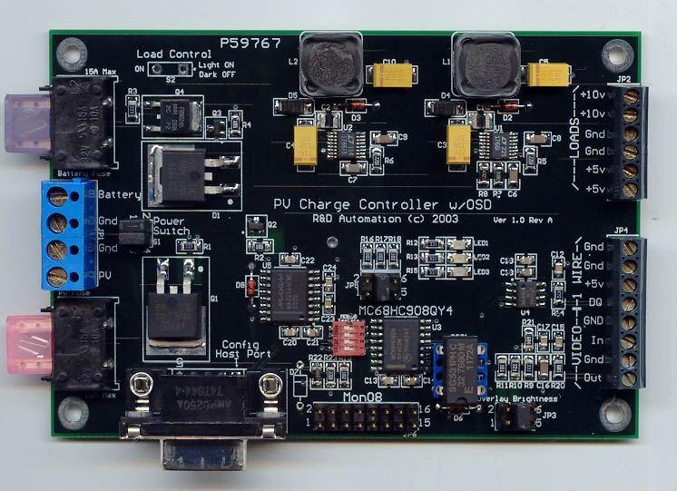 Motorola Mc68hc908qy4 Mcu Remote Observation Station