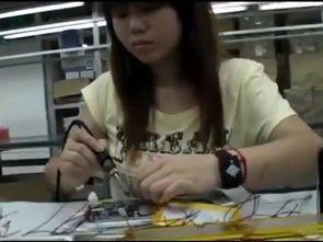 Tablet Bilgisayar Üretimi Son Aşamalar Çin Fabrika Görüntüleri