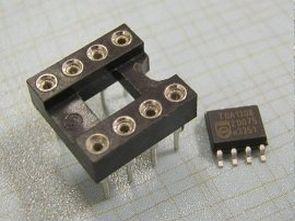 8-pin-SOIC-SMD of-the-dưới-socket bộ chuyển đổi