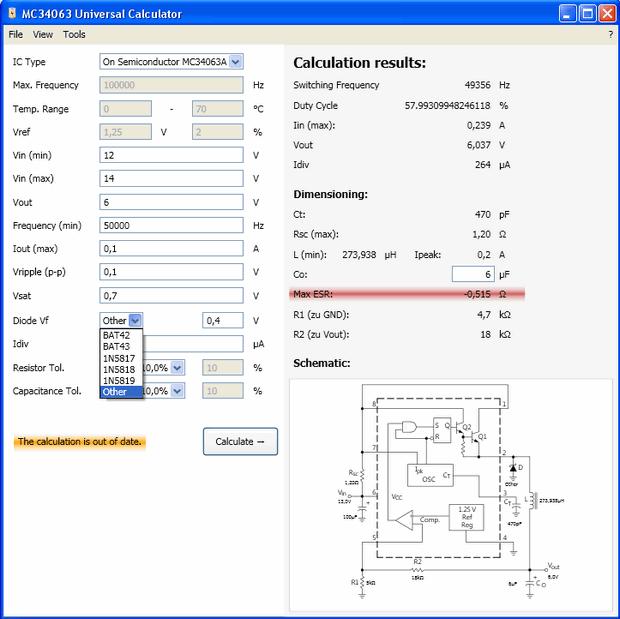 MC34063-Switching-Controller-MC34063-Universal-Calculator