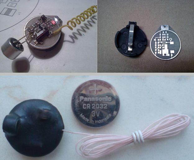 175MHz 190MHz Tiny 3V FM transmitter circuit fm transmitter radio transmitter fm bug circuit