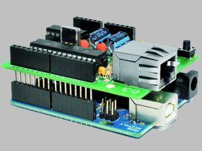 Arduino Kit İçin ENC28j60 Ethernet Modülü