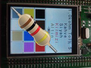 STM32F429 Discovery ile Dokunmatik Direnç Hesaplayıcı