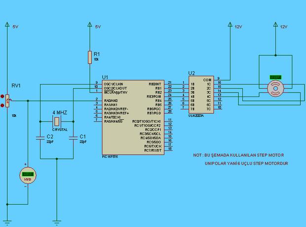 Disco Light Effects System with PIC16F876 disco lamp disko lamba lamba efekt